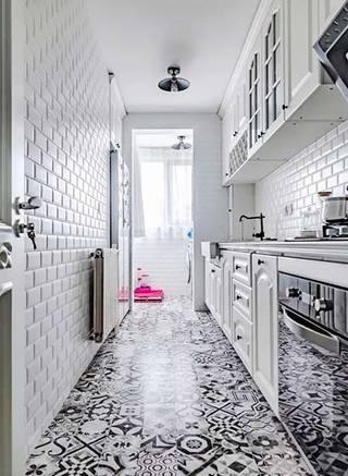 厨房地砖设计欣赏图