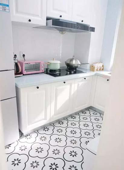 厨房地砖平面图