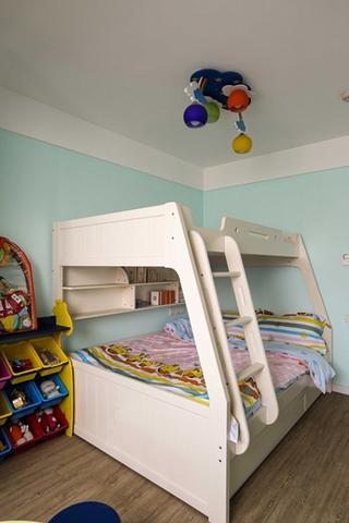 95平日式风格装修儿童房效果图