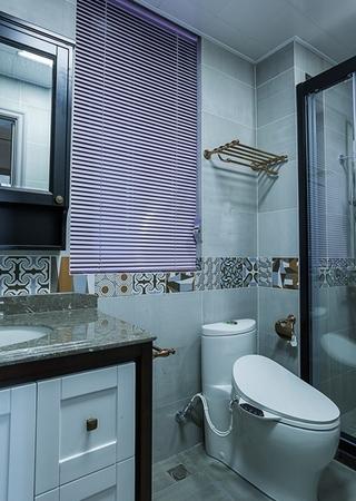 单身公寓现代简约风格装修卫生间图片
