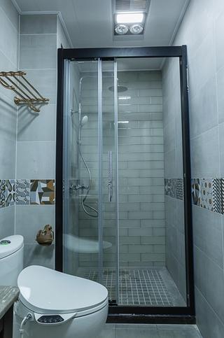 单身公寓现代简约风格装修卫生间装潢图