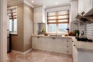 简欧风格小复式装修厨房装潢图