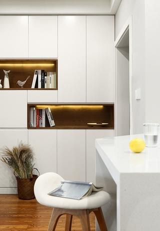 130平北欧风格装修收纳柜