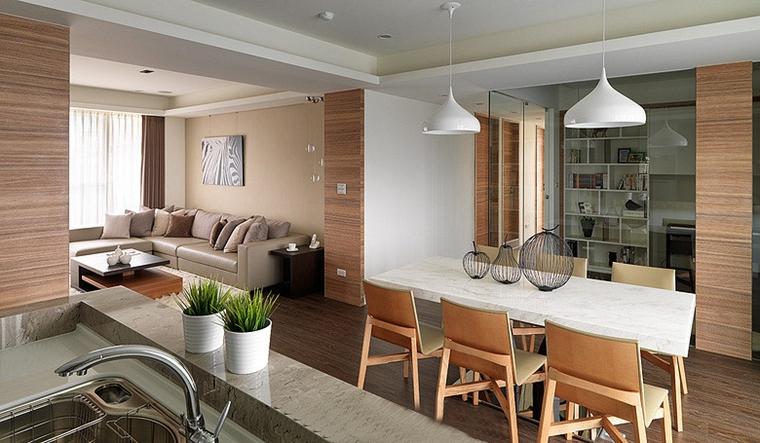 两室两厅简约风格装修时尚餐桌