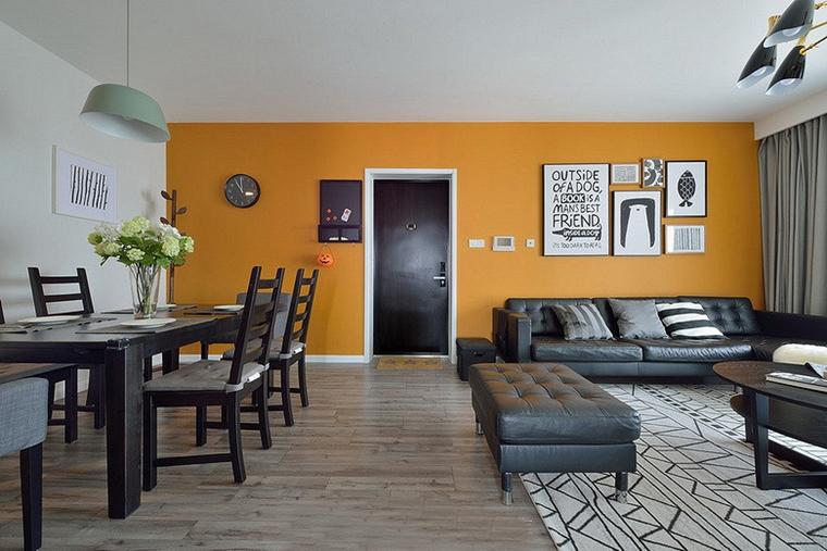 20万半包三居室装修餐厅效果图
