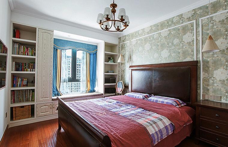 美式装修风格卧室效果图