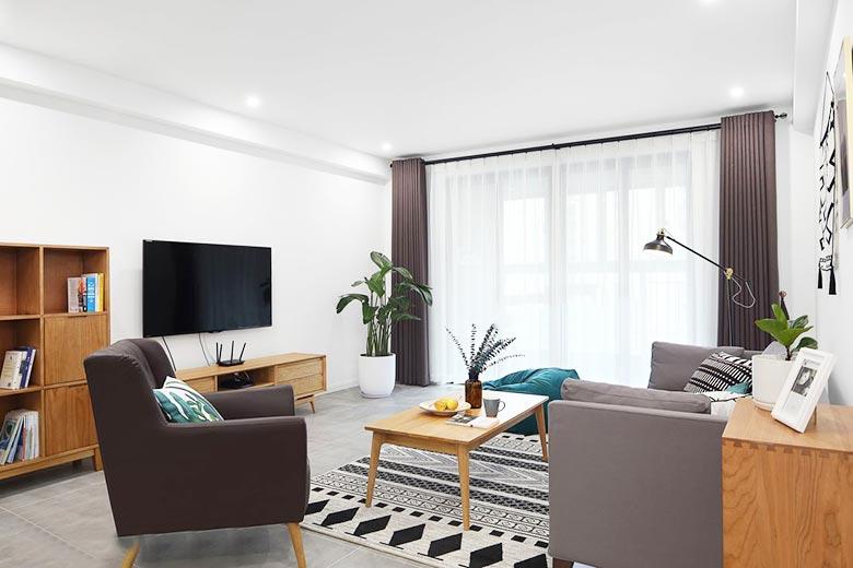 现代简约风格客厅设计参考图