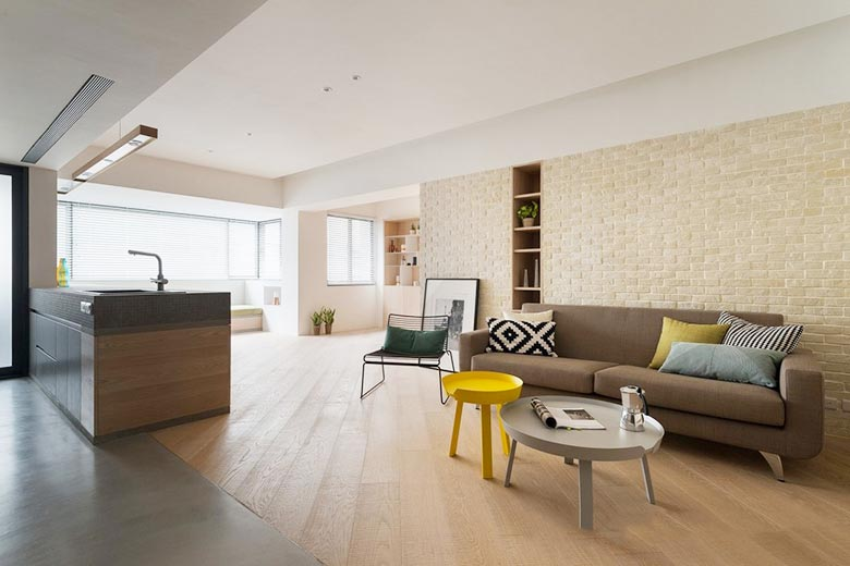 现代简约风格客厅装修图