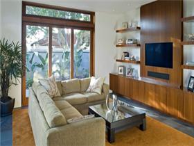 简约电视墙效果图大全   装修简约电视墙设计特点