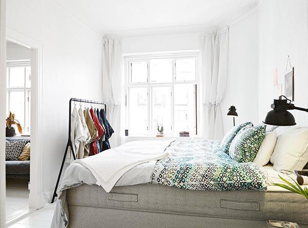北欧风卧室背景墙效果图