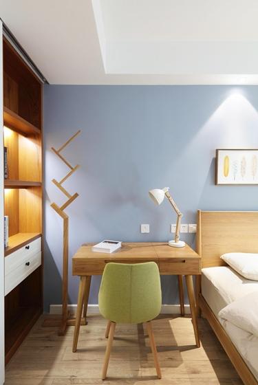 90平北欧风格两居室工作台图片