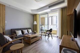 90平日式风格两居室装修 空间设计断舍离1/11