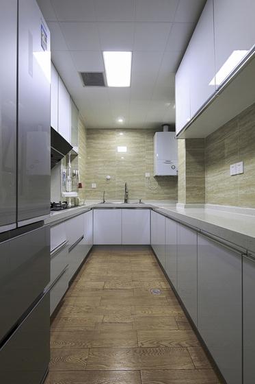 90平日式风格两居室装修厨房效果图