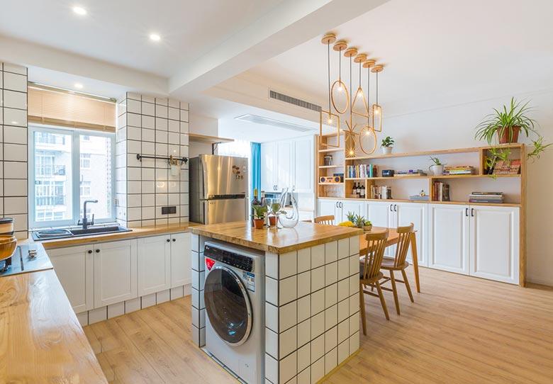 北欧两居室厨房装修图