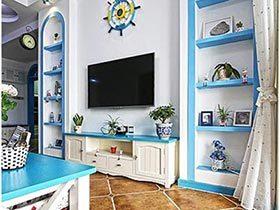 墙面换装术  12款客厅电视背景墙效果图