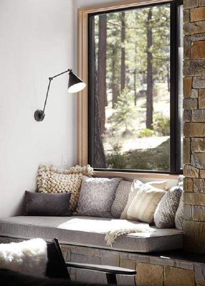 室内飘窗装修装饰效果图