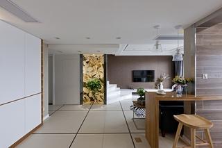 120平复式房装修过道图片