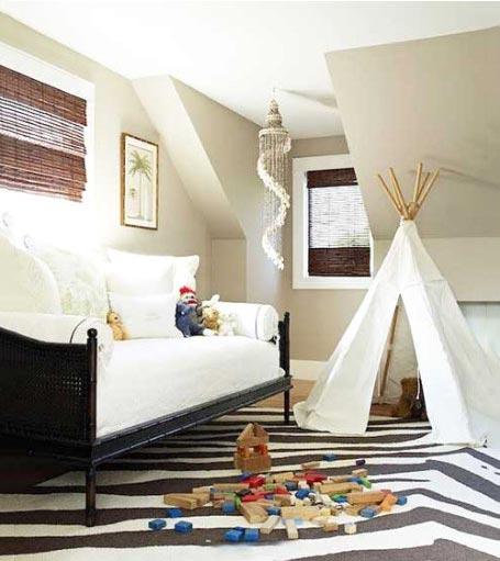 儿童房设计与装修装饰图儿童房设计与装修