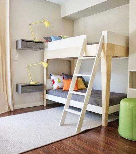 110平北欧风装修儿童房设计图