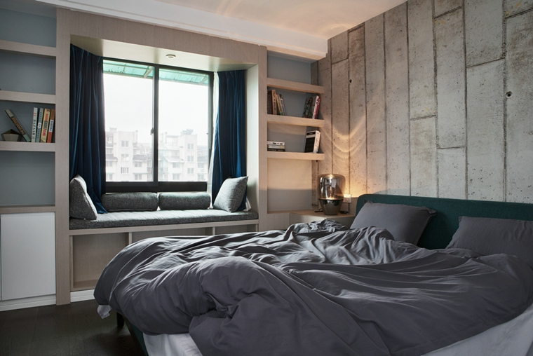 130平简约风格装修卧室效果图