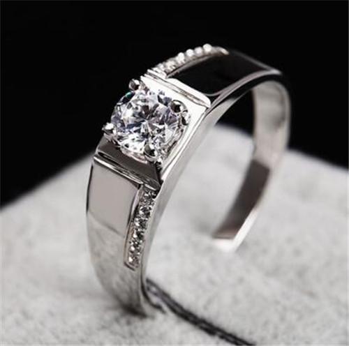 男士铂金戒指图片欣赏 男士铂金戒指选择什么款式好图片