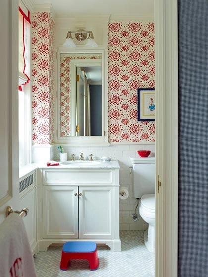 小户型卫生间壁纸设计图
