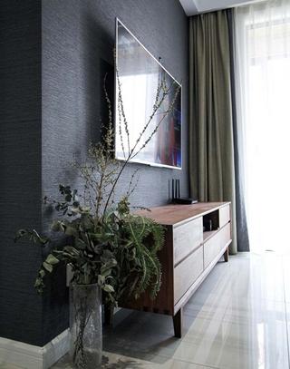 110平简约风格三居室电视柜