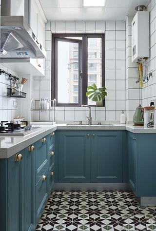 20万全包90平三居室厨房效果图