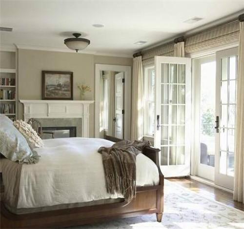卧室阳台推拉门装修效果图 主卧阳台推拉门欣赏