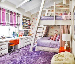 儿童房设计上下床设计构造图