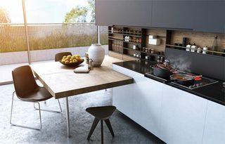 现代风厨房装修图