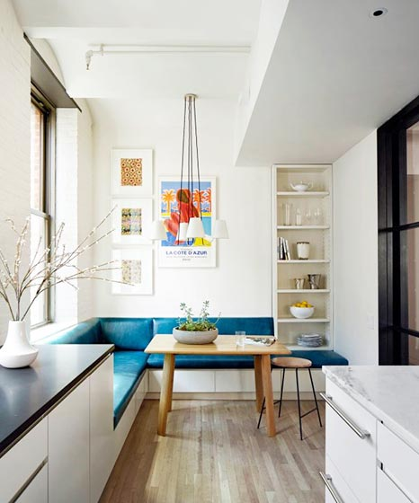 现代风厨房设计装饰图