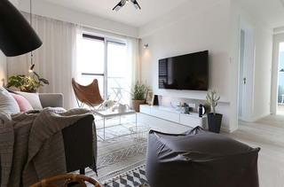 半包9万搞定两居室装修客厅布艺沙发