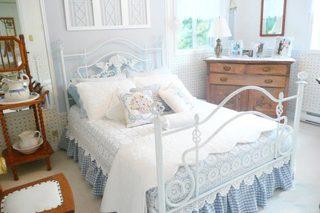 公主房设计床头柜图