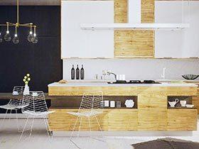 任性大厨房  10个开放式厨房装修效果图