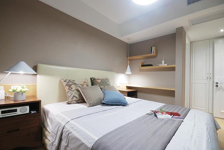 简约卧室设计构造图