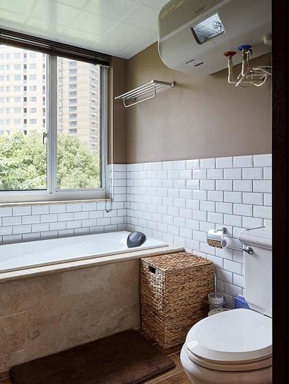 富有韵味的美式风格装修卫生间图片