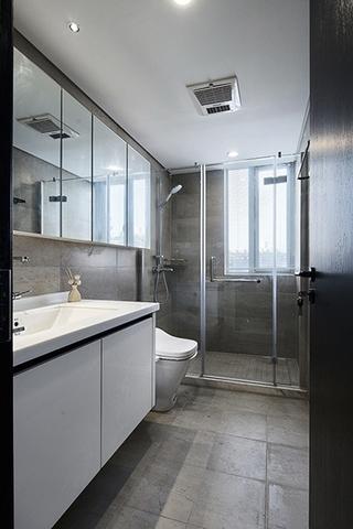 有味道的简约风格装修卫生间装潢图