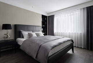 有味道的简约风格装修卧室效果图