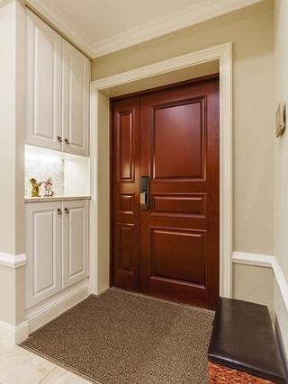 170平大户型装修玄关柜