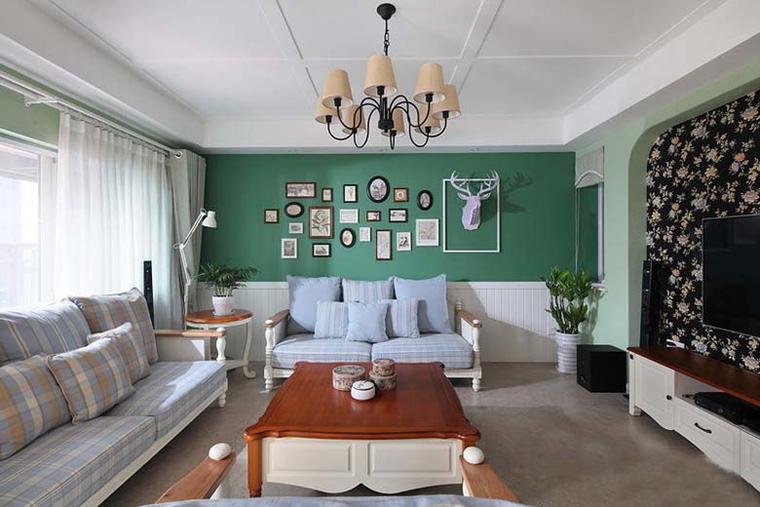 最漂亮的小复式装修客厅效果图