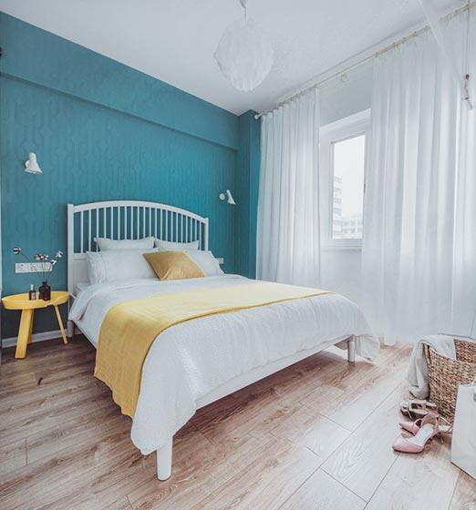 99㎡北欧风格卧室装修图