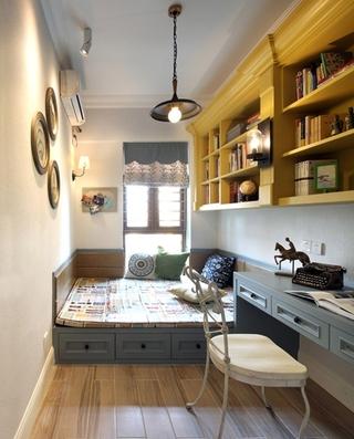 130平三居室装修榻榻米图片