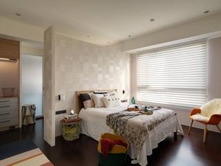 北欧风格三居室装修卧室效果图