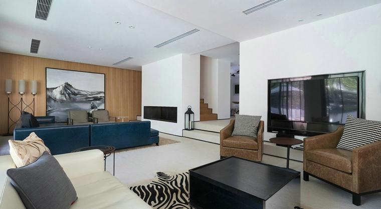 台式风格别墅装修客厅效果图