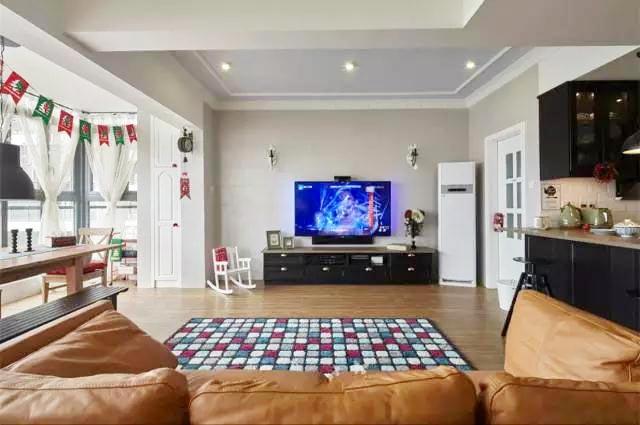 客厅装修地毯图片