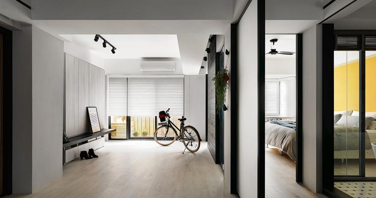 舒适三居室装修过道图片