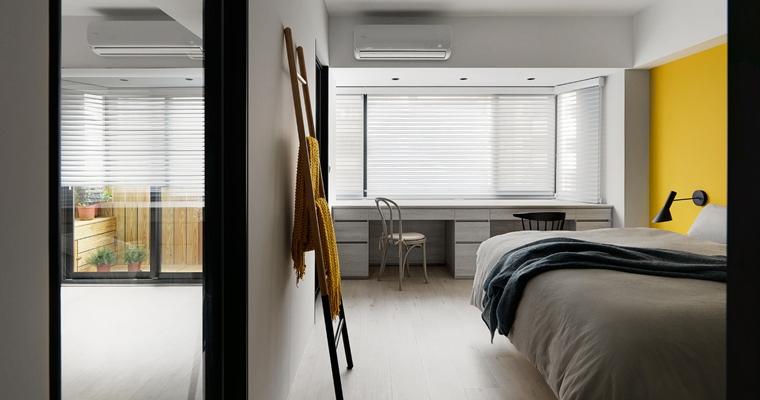 舒适三居室装修卧室装潢图