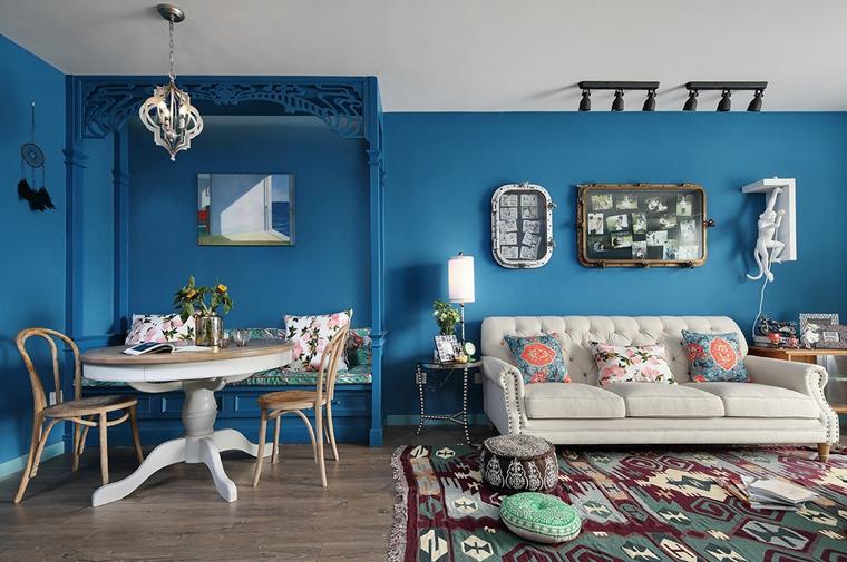 东南亚风格装修客厅效果图