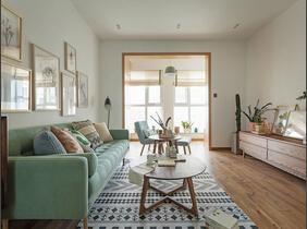 现代原木风三居室装修 让人心静心安的家